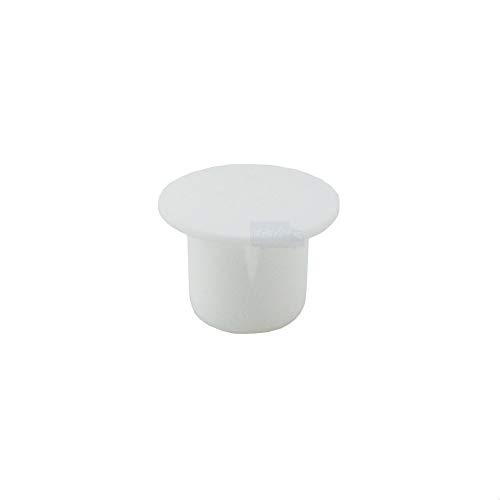 IROX - Lote de 20 tapones para los agujeros de 8 mm, de plástico, color blanco