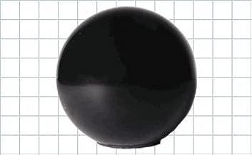 CL-652-PB Carr Lane Manufacturing Ball Knob, Phenolic, Tapped: Diameter 1-3/8, Thread 3/8-16