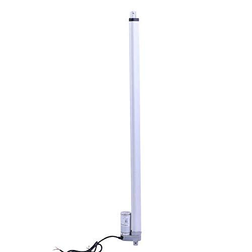 12V Linearaktuator Kraft 1500N Hub 200 mm / 350 mm / 400 mm / 450 mm / 700 mm / 750 mm Linear Actuator Motor Elektromotor Halterung Linearaktuator Motor für Automobile / Medizinische Geräte(700mm)