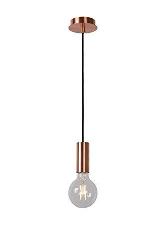Lucide DROOPY - Suspension - Ø 9,5 cm - LED Dim. - 1x4W 2700K - Cuivre