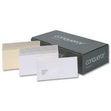 Prima Conquistador DL 110 x 220 mm sobres - Acabado: Sexo, cantidad: 500, ventana: ventana, color blanco brillante