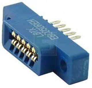 SULLINS EBC05DREH 10 Position (2 x 5) 2.54 mm Center Eyelet Dual Readout Edge Connector - 5 item(s)