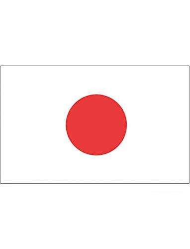 "TrendClub100® Fahne Flagge ""Japan JP"" - 150x90 cm / 90x150cm"