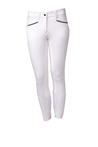 Horseware Ladies Woven Competition Riding Breeches 34 inch White