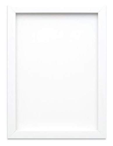 Memory Box PF Range Picture/Photo/Poster frame with Real Glass - Moulding 19mm Wide and 16mm Deep - (29.7 x 42.0cm) White A3
