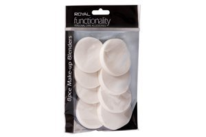 Royal 8pc Make-Up Blender Round Sponges - RAPP005 by Royal