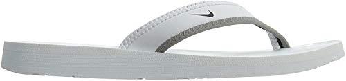Nike 314870-011 Badelatschen, Damen, Schwarz (Black/White), 44 1/2