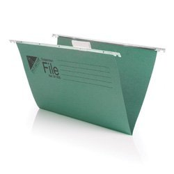 Initiative A4 Suspension File With Tabs and Inserts - 215gsm 85% Recycled Pack 50