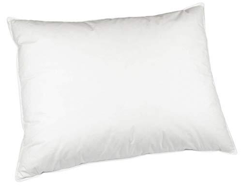 ZOLLNER Kopfkissen in Hotelqualität, 70x90 cm, Daunen und Federn, weiß