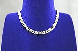 シルバー&ゲルマニウムネックレス 細め幅3.5ミリ喜平鎖 60センチ 日本製