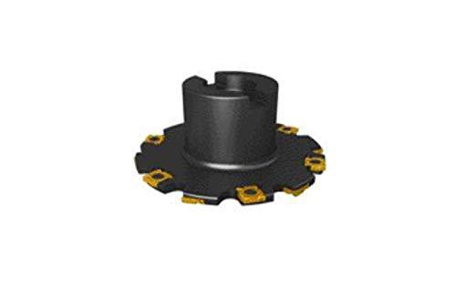 SECO Tools R335.19-100.12.27-5 - Fresa de disco de lado completo, cenador, diámetro de corte 100 mm, ancho de corte 12 mm, diámetro de diámetro de 27 mm, número de bordes 5