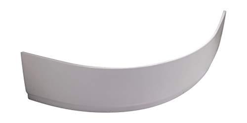 Calmwaters® - Curved Wellness - Weiße Wannenschürze aus Acryl für Eckbadewannen in 150 x 150 cm - 03SL3016