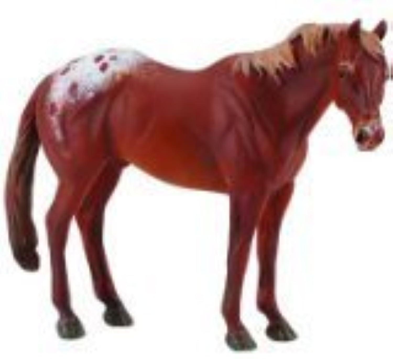 CollectA Chestnut Appaloosa Stallion by Collecta