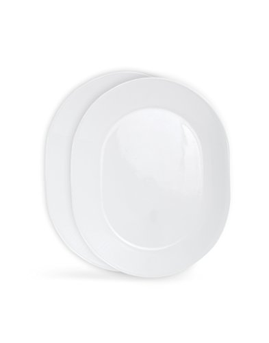 Corelle Livingware 12-1/4-Inch Serving Platter, Winter Frost White (Winter Frost White- 2-Pack)