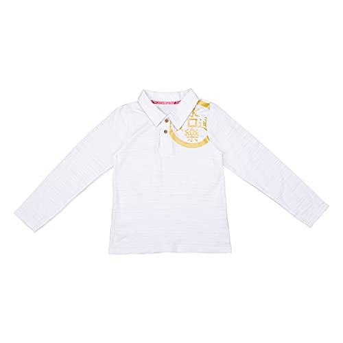 db11 Unisex Kids Long Shirt Polo Shirt School Uniform Clothing White