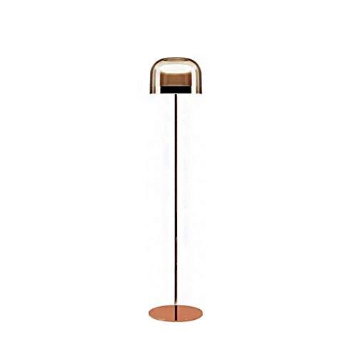 DGHJK Lámpara de pie Luz de pie Lámparas Verticales Luces Lámpara de pie Sala de Estar Minimalista nórdica Lámpara de Estudio Arte Dormitorio Creativo Lámpara de cabecera Diseñador posmoderno Modelo