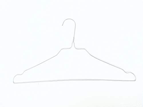 CHEMITAL Grucce in Metallo da Lavanderia/organizzazione Armadio e Guardaroba (Set 100 Pezzi)