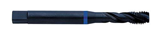 Exact Machines de 3 tarauds | DIN 371 | HSS de E | 35 ° Droite de avec rainure | M | Anneau Bleu | 1 pièce