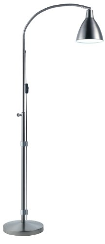 Flexi-Vision Floor Lamp-Silver