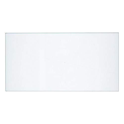 Miele 7065990 ORIGINAL Glasplatte Ablage Glasablage Glasboden Glastrageplatte Glastragplatte Boden Ablageboden Schubladenabdeckung 411x211mm Gefrierteil Gefrierschrank KühlGefrierKombination