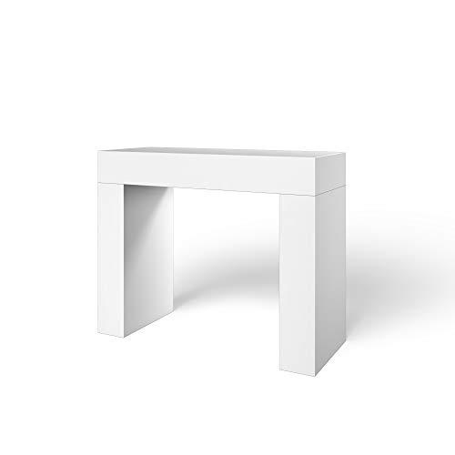consolle ingresso bianco lucido Tavolo Consolle In Legno