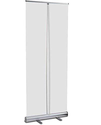 HNSQSM Bodenstehender Nieschutz Für Theke, Trennraum Raumteiler Schild Kunststoffschutzbarriere, 6 Größen/Leicht Zu Tragen/Aufrollen Clear Shield