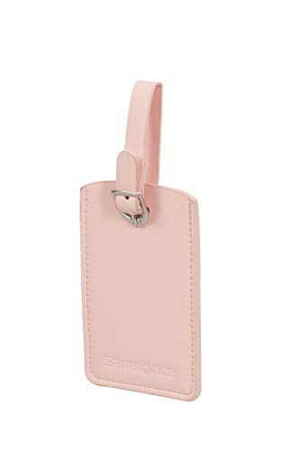 SAMSONITE Global Travel Accessories - Rectangle Etiqueta para Equipaje 10 Centimeters 1 Rosa (Pale Rose Pink)