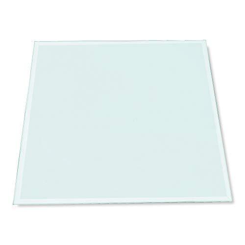 Rapid Teck® 48€/m² Glasplatte Eckig 800 x 800mm Glastisch Tischplatte aus gehärtetem Glas Tisch Glasscheibe 6mm Dick
