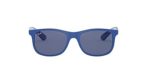 Ray-Ban Rj9062s Gafas de Sol, Matte Blue, 48 Unisex-Niño