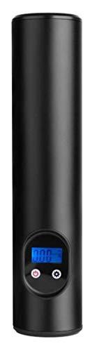 smartEC Elektrische Luftpumpe, elektrische Fahrradpumpe 12V mit LCD-Display und Taschenlampe bis 150 PSI, Mini-Luftpumpe für E-Bikes, handliche und einfache Bedienung