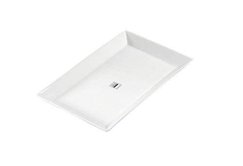 ASA 250 Grad Plus ESS-/Servierteller, Porzellan, Weiß, 27 x 17 x 2.5 cm