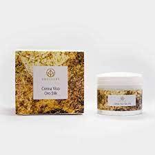 Crema Viso idratante purificante naturale - Crema professionale per la cura del viso 50ml Crelisse (Oro24k