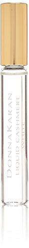 Donna Karan Liquid Cashmere White Mini Eau de Parfum Rollerball for Women, 0.34 oz