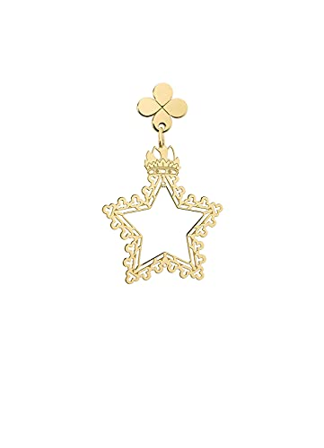 Lebole Gioielli Colección Middle Ages Stella Mini pendiente individual para mujer de plata
