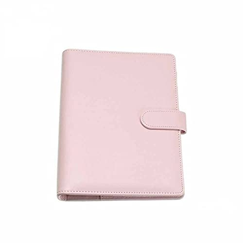 CHUKESM Folder Vintage Refillable Notebook File Folder Notepad Cover Leather Ring Binder Office Supplies