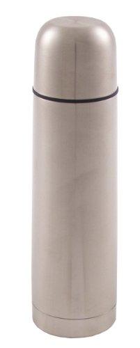 Fox Outdoor Isolierflasche Vakuum Schnellverschluss Edelstahl, silber