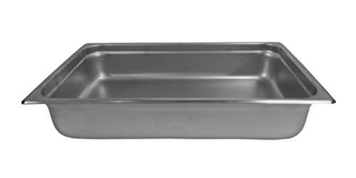 "4"" Deep Full Size Stainless Steel Anti-Jam Steam Pan"