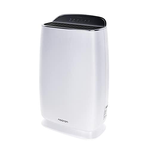 Noaton AP 2145, Purificador de aire CADR 200 m3/h, hasta 45 m², Filtro HEPA (99,97%), Carbón, Filtro fotocatalítico + UV, Ionizador, Mostrar Calidad Aire, Modo de Sueño y Automático, Temporizador