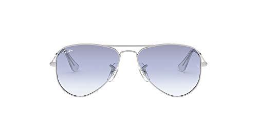 Ray-Ban JUNIOR Rj9506S Gafas de sol, Silver, 52 Unisex-niños