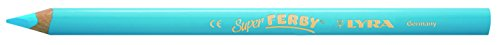 Lyra, Super Ferby, Matite Colorate, 12Pezzi, Azzurro