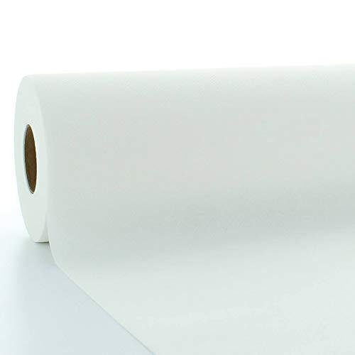 Sovie HORECA Tischdeckenrolle aus Linclass® Airlaid 120 cm x 25 m, 1 Stück (Weiß)