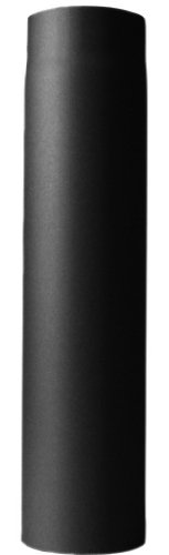 Ofenrohr 120 x 1000 mm, schwarz 2003023