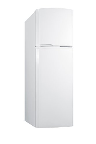 Summit FF946WLHD 8.8 cu.ft. Frost-Free Refrigerator-Freezer with Left Hinge Door In Slim 22' Width for Small Kitchens, White