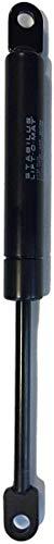 Ricambio per Stabilus Lift-O-Mat 192872 200N Pistone molla a gas Stabilus Lift-O-Mat nero da 185,5 mm - 200 Newton