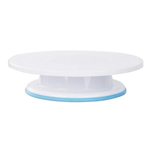 pequeño y compacto UPKOCH Soporte giratorio para pasteles Herramienta de decoración para soporte giratorio para pasteles …