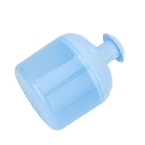 Fabricant de masque facial, fabricant de bulles d'embellissement de feuilles pour les soins de nettoyage de la peau pour les soins de nettoyage du visage pour les soins de nettoyage du corps(bleu)