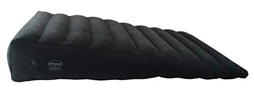 ObboMed HR-7690 Almohada de Cuña Extra Grande Inflable, Bomba y Bolsa de Almacenamiento Incluidas - Tamaño XL : 115 x 76 x 4-20 cm