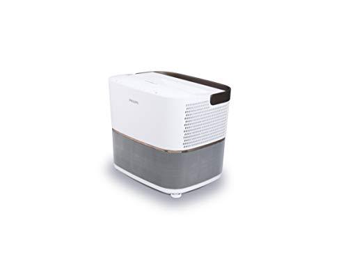 Philips Projection Screeneo Heimkino-Projektor mit Ultra-Weitwinkel-Optik HDP3550/EU - Beamer (2200 ANSI Lumen, 1080p (1920x1080), 200000:1, 16:9, 1270 - 3048 mm (50 - 120 Zoll), 4:3, 16:9)
