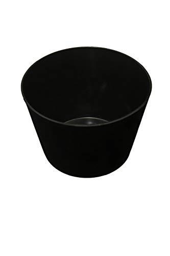 Gipsbecher für Gips und Spachtelmasse bauchige Form 9 cm hoch