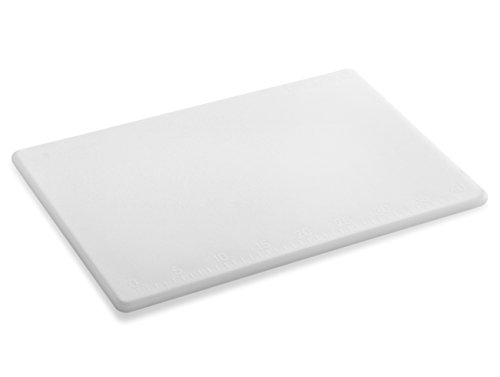 New Star Foodservice 28836 Cutting Board, 12x18x1/2-Inch, White
